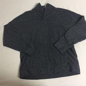 New Banana Republic Gray Shawl XLT Sweater NWOT